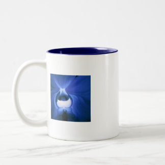 Blue Ordhid Tea Two-Tone Mug