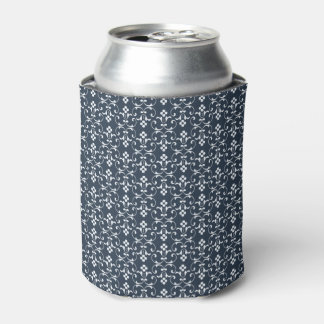 Blue ornamental Pattern Can Cooler