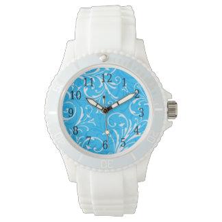 Blue Ornamental Watch