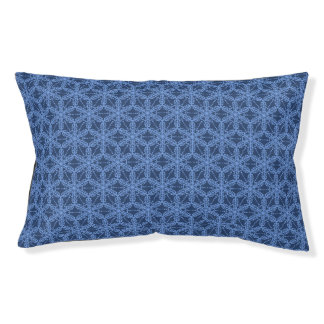 Blue Outdoor Dog Bed