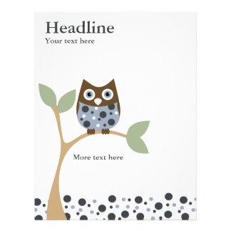 Blue Owl Baby Flyers