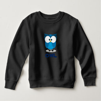 blue Owl for kids Sweatshirt