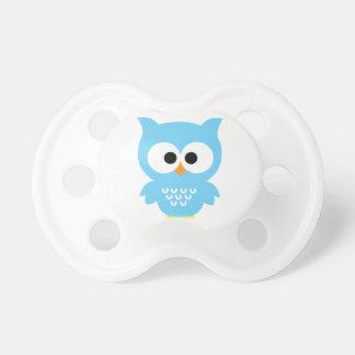 Blue owl pacifier