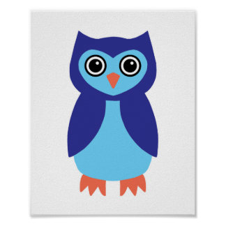 Blue Owl Posters