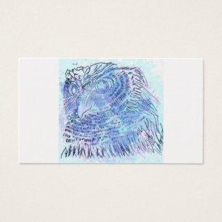 Blue Owl watercolour