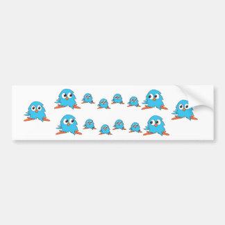 blue owls bumper stickers
