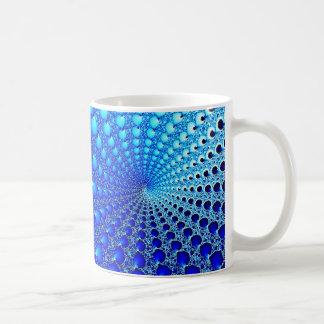 Blue Oyster Spiral Coffee Mug