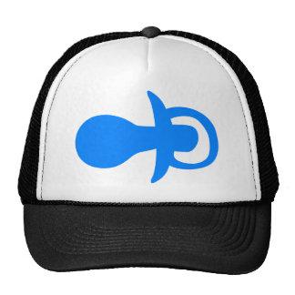 Blue pacifier. cap