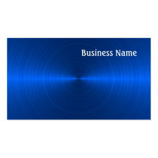 Blue Pack Of Standard Business Cards