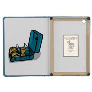 Blue Packaway 8r Vintage Camp Stove iPad Mini Cases