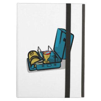 Blue Packaway 8r Vintage Camp Stove iPad Air Case