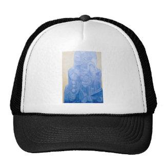 Blue Pagan Church(surreal architecture) Trucker Hats