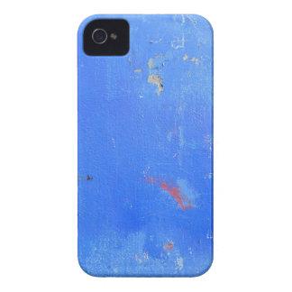 Blue paint grunge design Case-Mate iPhone 4 case