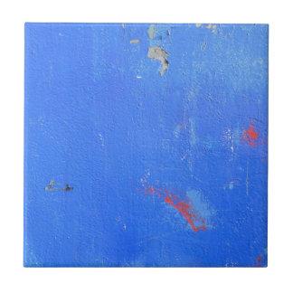 Blue paint grunge design tile