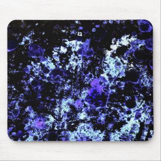 Blue Paint Mouse Pad
