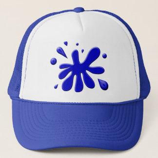 Blue Paint Splodge Trucker Hat