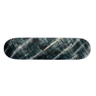 Blue Painted Wood 19.7 Cm Skateboard Deck