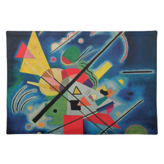 Blue Painting by Wassily Kandinsky Placemat
