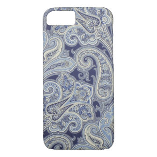 Blue Paisley Iphone 7 Phone Case