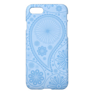 Blue paisley pattern iPhone 8/7 case