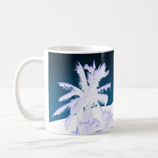Blue Palms Mug