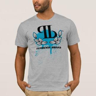 Blue Pandemic Laurel T-Shirt