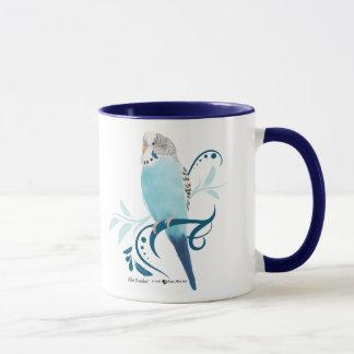Blue Parakeet Mug