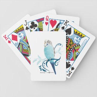 Blue Parakeet Poker Deck