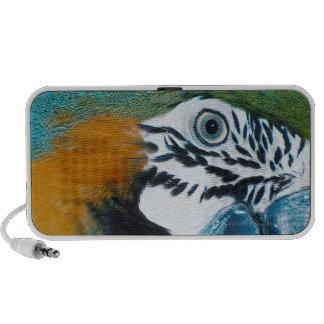 Blue Parrot Portable Speakers