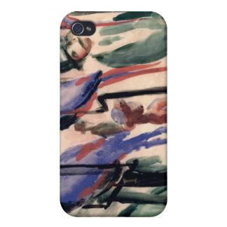 Blue Parrots iPhone 4 Cover