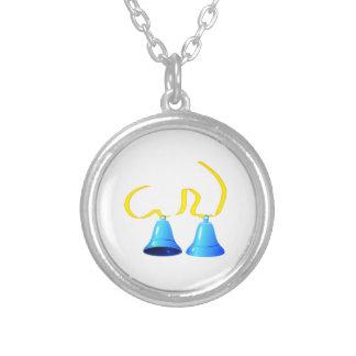 Blue Party Bells Necklaces