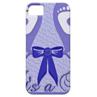 Blue Pattern Baby Shower Mother Love Peace Boy iPhone 5 Cover