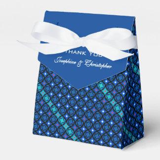 Blue Pattern Favour Box