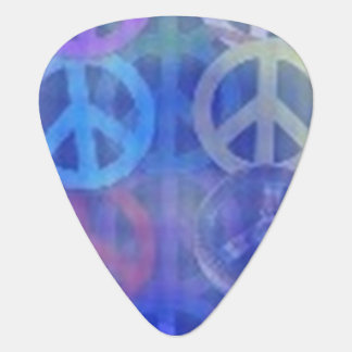Blue Peace Guitar Picks - Musician's Supplies Gift Guitar Pick