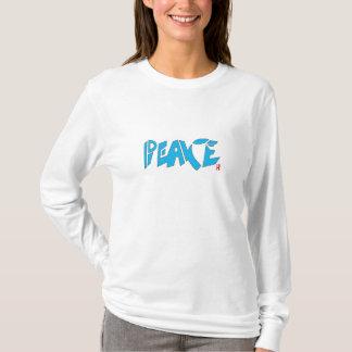 BLUE PEACE T-SHIRT