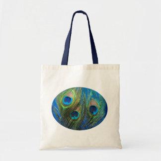 Blue Peacock Fish Eye Bags