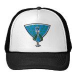 Blue Peacock Hats