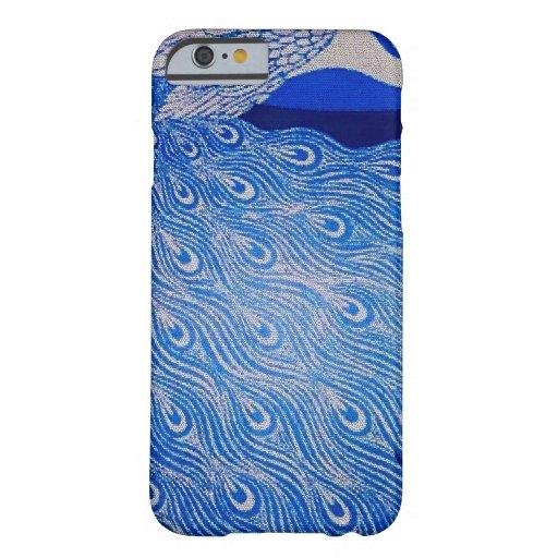 Blue Peacock Mosaic iPhone 6 Case