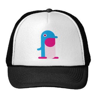 Blue Penguin Mesh Hats