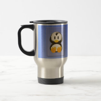 Blue Penguin Travel Mug