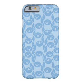 Blue penguins pattern background barely there iPhone 6 case