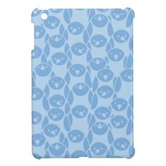 Blue penguins pattern background iPad mini case