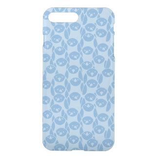 Blue penguins pattern background iPhone 8 plus/7 plus case