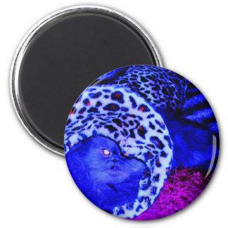 Blue Persian 6 Cm Round Magnet
