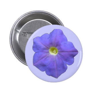 Blue Petunia Button