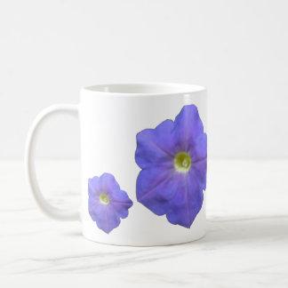 Blue Petunias Mug