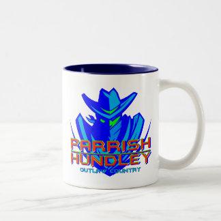 Blue PHB Outlaw Country Logo Mug