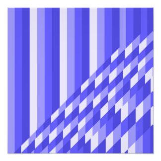 blue photo print
