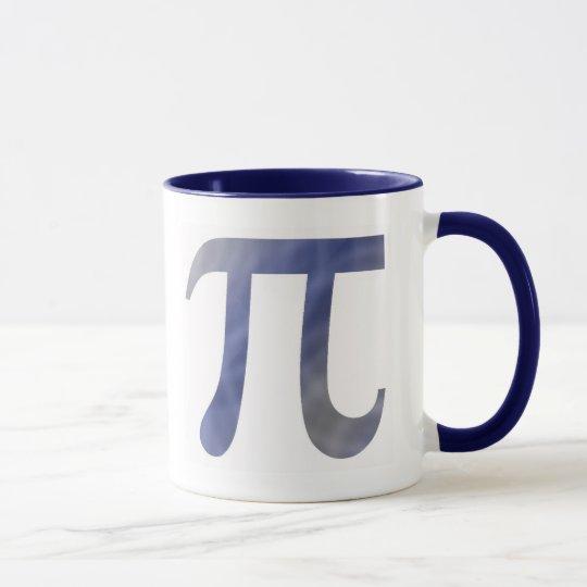 Blue PI Coffee Mug