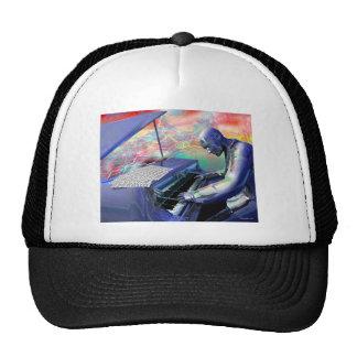 Blue Piano Cap